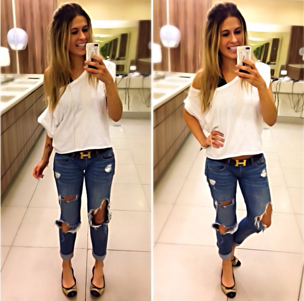 calça-jeans-rasgada-look
