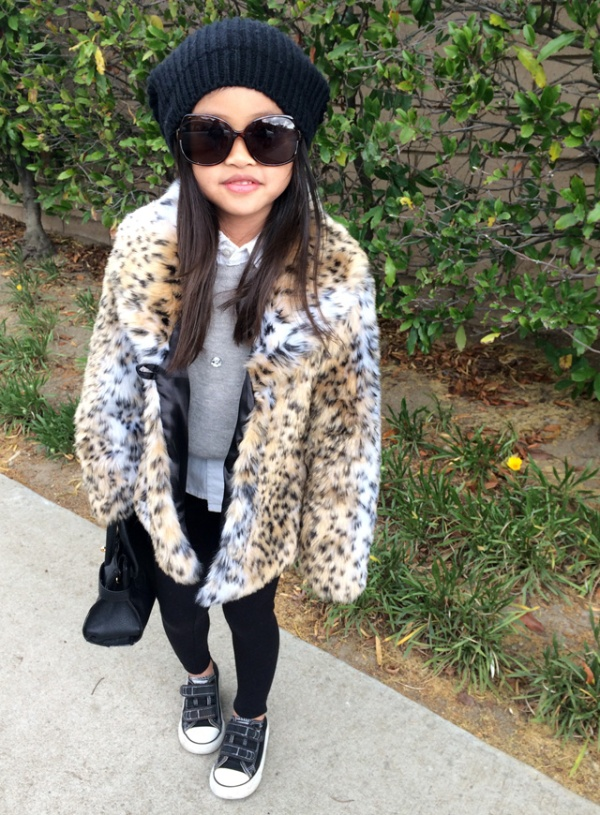 Sydne-Style-a-to-z-trend-guide-how-to-wear-a-beanie-leopard-coat-leggings-sweater-collared-shirt