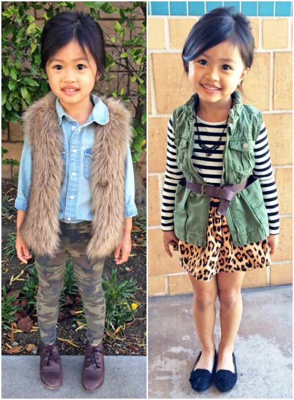 Sydne-Style-A-Z-trend-guide-how-to-wear-fall-winter-2013-trends-kids-fashion-fur-vest-leopard-stripes-army-outfits-camo-little-girls-fashion-children-mixed-prints