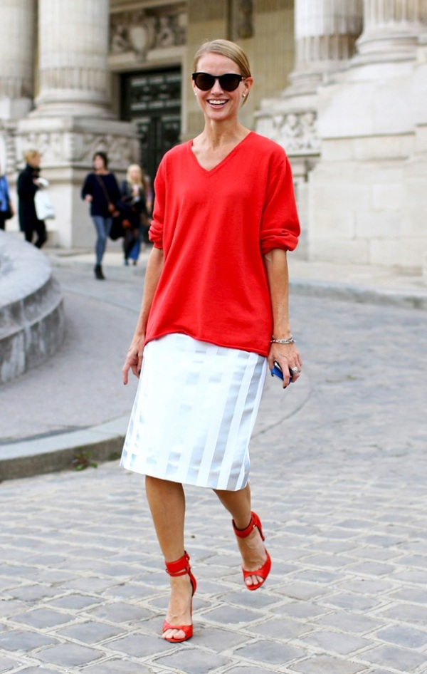 PFW Street Style Tomato Red 1